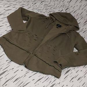Army Green Fashion Hoodie